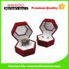 Simpleness Fashion Deep Processing Red Custom Velvet Jewelry Box