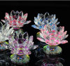 Crystal Lotus Candle Holders Color Base