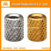 Threaded Knurled - Unified Fasteners Stainless Steel Nut