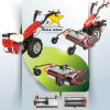 13HP Gasoline / Diesel Engine 2 Wheel Walking Tractor for Sale