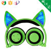Foldable Shape Chargable Stereo Wireless Headphone with Glowing Light