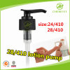 Outside Spring Ribbed Closure 28mm Plastic Lotion Pump
