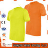 Factory Pure Color High Visibility Tshirt for Safety of 100%Cotton