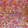 Glass Mosaic Rainbow Color for Background Wall