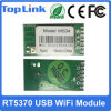 Top-Ms04 Ralink Rt5370 150Mbps USB WiFi Module with Ce FCC Support Wireless Soft Ap Mode