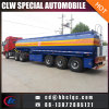 45m3 38mt Tri Axles Oil Tank Semitrailer Fuel Tanker Trailer