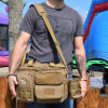 Brown Crossbody Tactical Mens Baby Daiper Handbag Tote Bags