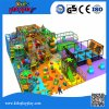 Hot Sale Funny Theme Children Soft Indoor Playground Big Area Playground with Slide Trampoline