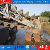 High Efficiency Chain Bucket Mining Sand Gold Dredger for Sale