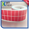 Die Cutting 18mm*25 mm Square Shape Red Masking Tape