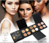 4 Color Highlight Contour Palette Pearly Lustre Matte Color Makeup Pressed Foundation Powder