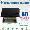 60W Foldable Sunpower Solar Panel Battery (PETC-H60B)