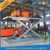 Scissor Design and Two Cylinder Hydraulic Lift Type Scissor Car Lift