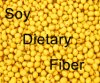 65% Soy Dietary Fiber Non-Gmo with Good Water Binding Properties