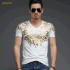 Wholesale Customed Round Neck Printing Men T-Shirt