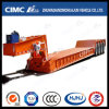 4axle Lowbed Semi-Trailer with Removable Hydraulic Gooseneck