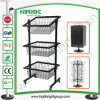 Display Stand for Promotion Products and Basket Display