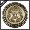 High Quality Director′s Coin in Gold Color (BYH-10535)