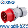 7 Pole Mobile Industrial Plug with IEC Standard (QX-742)