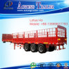 China Manufacturer 3 Axles Van Semi Trailer with Various Transportation