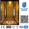 Golden Luxury Decoration Gearless Traction Passenger Elevator with Small Machine Room (RLS-211)