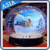 Take Photos Inflatable Snow Globe, Inflatable Bubble Tree for Christmas Promotion