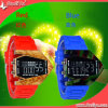 Cheap Alloy Case Silicone Sport Digital Watch for Man/Ladies (DYS80116)