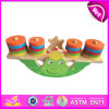 2014 New Wooden Balance Block Toys Animal Balance Game, Children Balance Game Toy, Hot Sale Wooden Baby Balance Game Set W11f013