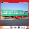 3 Axles Stake Truck Semi Trailer for Animal Transportation