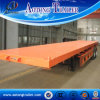 Tri-Axle 40ft Flatbed Container Semi Truck Trailer (LAT9380TJZG)