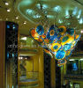 Artistic Suspended Hotel Crystal Chandelier Ceiling Lighting (XMHCH-302)