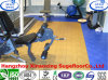 Customized PP Interlocking Tile Exercise Room Flooring