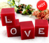 "Wedding Decoration Candle /Valentine Cube Lettle""Love"" Craft Candle (RC-429)"