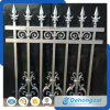 Powder Coated Garden Used Wrought Iron Fence / Aluminum Alloy Fence