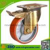 Double Brake Industrial Swivel Caster Wheel