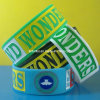 "1"" Silicone Wristband with Debossed Coloring Message"