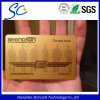 Golden Color Background PVC Card