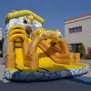 Inflatable Yellow Duck Funy Slide (aq01498)