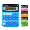 8 Digits Dual Power Colorful Mini Desktop Calculator (LC208C)