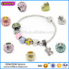 Custom Fashion Jewelry Rhinestone Charm, Bead Charm Bracelet Wholesale