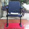 Wholesale Folding Theater Chair with Armrest in Blue Fabric for Auditorium and Church Yc-G66