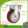 Light Duty Stainless Steel Fixed Nylon Castor Wheel