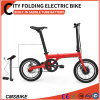 16 Inch Mini Folding Electric Bike Hidden Battery E Bike
