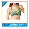 Women Yoga Wear Sublimation Printing Sports Bra with Racerback