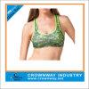 Women Yoga Wear Sublimation Printing Sports Bra with Racerback