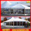 Luxury Aluminum Frame High Peak Mixed Tent with Glass Wall