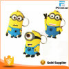 Promotional Gifts Customize Soft Rubber PVC Minions Keychain