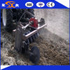 Double Side Gearbox Rotary Disc Harrow for Paddy Field