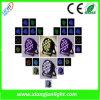 Indoor 54X3w RGBW LED PAR Can Light LED Light