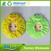 PE Environmental Protection Waterproof Cute Cartoon Duck Embroidered Shower Cap